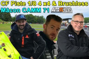 . [REPORTAGE] 2eme CF Piste 1/8 4 x 4 et Brushless Macon CAMM71