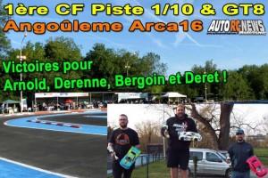 . [REPORTAGE] 1ere CF Piste 1/10 Thermique & GT8 Angouleme ARCA16