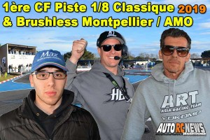 . [REPORTAGE] 1ere CF Piste 1/8 Classique et Brushless Montpellier AMO