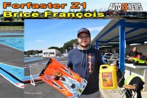. [VIDEO] CF Piste 1/8 Classique et Brushless Montpellier Forfaster Z1 Brice Francois