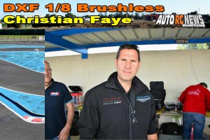 . [VIDEO] CF Piste 1/8 Classique et Brushless Montpellier DXF Christian Faye