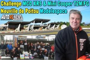 [Reportage] Challenge Piste 1/5 Mcd Xr5 Et Mini Cooper T2M/fg Neuville De Poitou Modelespace