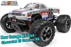 . Nuremberg 2019 New HPI Savage XS Flux Chevrolet El Camino SS 120093