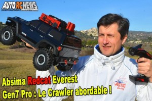 . [VIDEO] Absima redcat everest gen7 pro crawler 1/10 - une drogue dure !