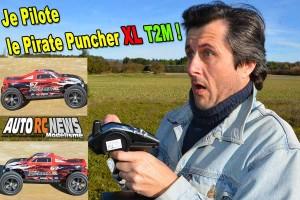 . [VIDEO] Je pilote le Pirate Puncher XL 1/6 T2M
