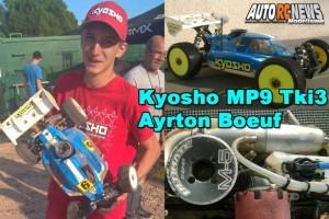 . Kyosho MP9 TKI3 AYRTON BOEUF