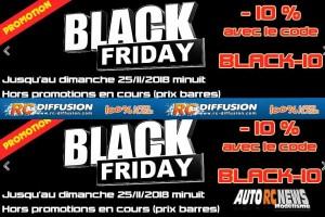 . Black Friday chez RC Diffusion