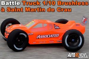 . MINI RACING TOUR DE PROVENCE SAINT MARTIN DE CRAU DUEL TRUCK 1/10 BRUSHLESS