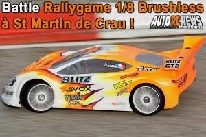 . BATTLE RALLYGAME 1/8 BRUSHLESS A SAINT MARTIN DE CRAU RMCC