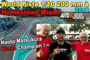 . World Piste 1/10 200 MM Homestead Miami HRCR