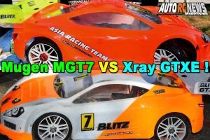 . MUGEN MGT7 VS XRAY GTXE