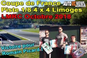 . Coupe de France Piste 1/8 4 x 4 Limoges LMRC