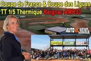 . Coupe de France et Coupe des Ligues TT 1/5 Reignac AMR33
