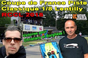 . Coupe de France CF Piste 1/8 Classique Lentilly RCCL