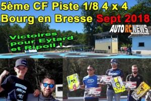 5Eme Cf Piste 1/8 4 X 4 Bourg En Bresse Bmrc