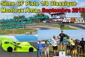 5Eme Cf Piste 1/8 Classique Et Brushless Monteux Amac