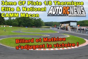 3Eme Cf Piste 1/8 Elite National Macon Camm