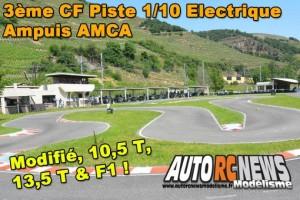 3Eme Cf Piste 1/10 Electrique Ampuis Amca