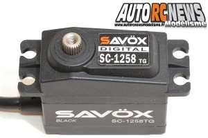 . Savox SC 1258TG Black Edition