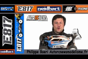 . Hb Racing E817 Unboxing
