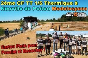 . [Reportage] 2eme CF TT 1/5 Thermique Neuville de Poitou Modelespace