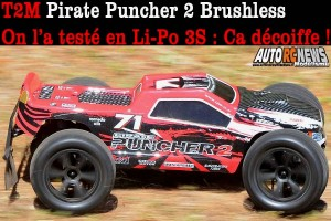 T2M Pirate Puncher 2 Brushless Rtr T4934B