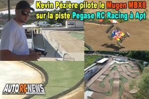 [Video] Kevin Pézière pilote le Mugen MBX8 au Pegase RC Racing Apt