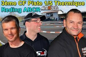 . [Reportage] 3eme CF Piste 1/5 Reding ABCR