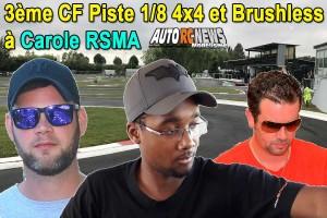 . [Reportage] 3eme CF Piste 4 x 4 et Brushless Carole RSMA