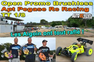 . [Reportage] Course TT 1/8 Open Promo Brushless Apt PRCR