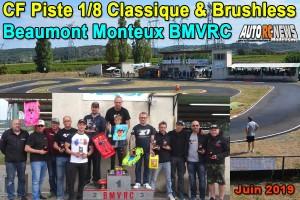 [Reportage] 4eme CF Piste 1/8 Classique et Brushless Beaumont Monteux BMVRC