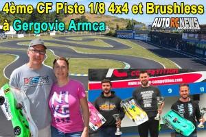 [Reportage] 4eme CF Piste 4 x 4 et Brushless Gergovie Armca