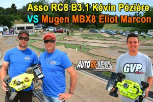 . [Video] MBX8 Eliot Marcon VS RC8 B3.1 Kevin Peziere