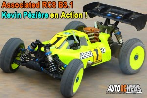 [Video] Associated RC8 B3.1 Kevin Peziere