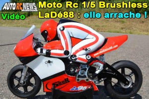 [Video] Moto RC Electrique 1/5 LaDe88