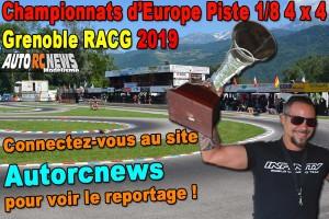 [Reportage] Euro Piste 1/8 Thermique 4 x 4 Grenoble RACG