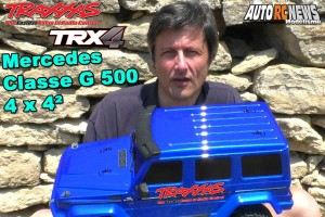 [Video] Le Plus beau Traxxas TRX-4 Mercedes Classe G 500