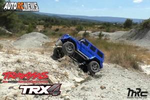 [Video] J'envoie le Traxxas TRX-4 Mercedes Benz Classe G 500 en enfer !