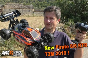 [Video] T2M Pirate 8.6 1/8 RTR t4794bu et t4794or