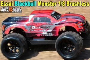 [Essai] BlackBull Monster 1/8 Brushless RTR 94996