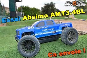 [Essai] Absima Truck AMT3.4 BL 1/10 RTR