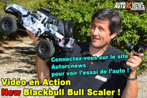 [Video] Je Pilote le Blackbull Bull Scaler 1/10 RTR
