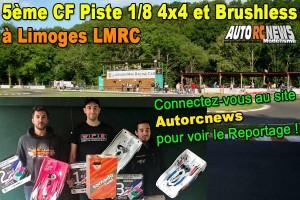 [Reportage] 5eme CF Piste 1/8 4x4 Limoges LMRC