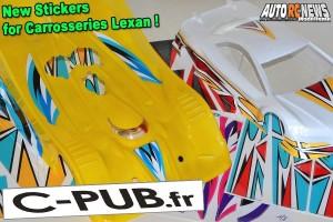 . C-Pub.fr Stickers pour Carrosserie Lexan