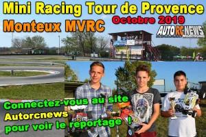 [Reportage] Mini Racing Tour de Provence Monteux Octobre 2019