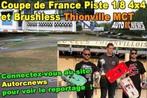 . [Reportage] Coupe de France Piste 1/8 4x4 Thionville MCT