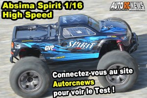 . [Essai] Absima Spirit Monster Truck High Speed 1/16 4wd
