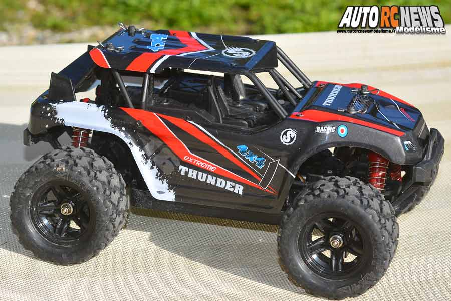 essai monster truck absima thunder high speed 1/18 rtr 4wd réf : 18003 distribué par gvp racing