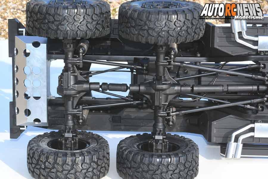 essai traxxas trx-6 crawler 1/10 rtr électrique réf : 88096-4 mercedes benz classe g 63 amg