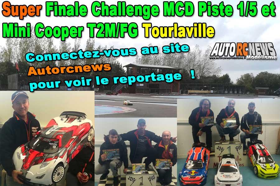 reportage super finale challenge piste 1/5 mcd xr5 et mini cooper t2m/fg à tourlaville tmm 28 et 29 septembre 2019